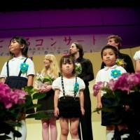 Fukuoka - Very cute kids on stage!