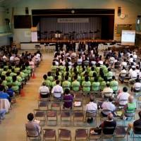 Tokyo / Saitama - Fundraising concert with local high school concert band.