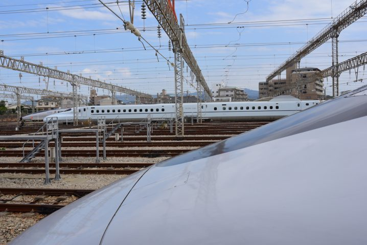 The wonderful Japanese Shinkansen. (Photo: David Nielsen)