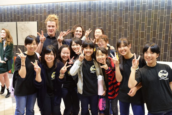 Group photo after the Fukuoka concert.
