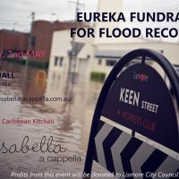 Upcoming gig – Eureka Hall Fundraiser