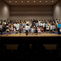 Fukuoka - Second performance. All in finale with everyone singing together.