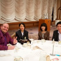 Tokyo - Rotary lunch performance.