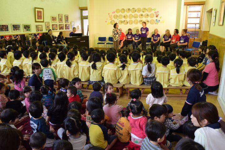Shiawase no hoshi nursery School, Fukuoka. (Photo: David Nielsen)