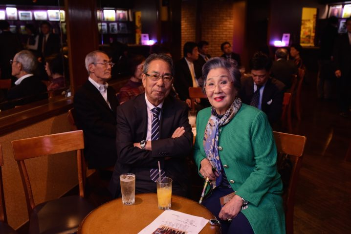 Longtime Isabella supporters Mr & Mrs Shimada.