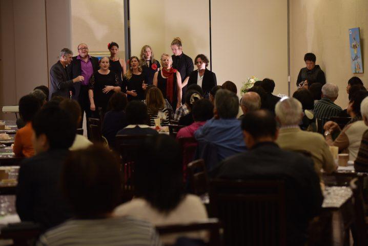Performance event organised by local Miyazaki kindergarten. (Photo: David Nielsen)
